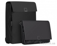 Комплект Рюкзак+Сумка U'REVO City Business Multifunction Computer/Portable Bag Black 2 pcs
