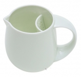 Фарфоровый заварник FINEMADING (Bone China) 370ml Белый