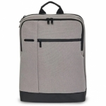 Рюкзак RunMi 90 Classic Business Backpack Light Grey