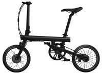 Велосипед Xiaomi QiCycle MiJia foldable electric bike EF1 Black